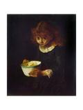 Little Dormouse Giclee Print by Frank Huddlestone Potter