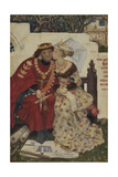 King René's Honeymoon Giclee Print by Ford Madox Brown