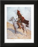 The Blanket Signal Posters by Frederic Sackrider Remington