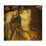 Joan of Arc Giclee Print by Dante Gabriel Rossetti