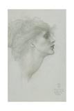 Desiderium Giclée-tryk af Sir Edward Coley Burne-Jones