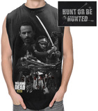 Walking Dead Hunting Group Sleeveless T Tank Top by  11