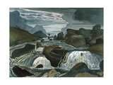 The Waterfall Giclee Print by James Dickson Innes