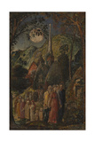 Coming from Evening Church Giclée-tryk af Samuel Palmer