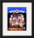 New York Knicks 2012-13 Team Composite Framed Photographic Print