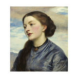 Mrs John Hanson Walker Giclee Print by Lord Frederic Leighton
