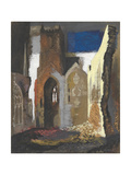 St Mary Le Port, Bristol Giclee Print by John Piper