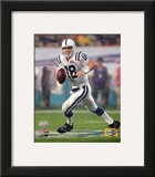 Peyton Manning SuperBowl XLI Action (3) Framed Photographic Print