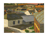 Porthleven Giclee Print by Charles Ginner