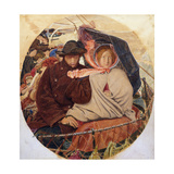 The Last of England Giclee Print by Ford Madox Brown