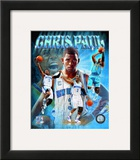 Chris Paul Portrait Plus Framed Photographic Print