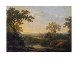 Classical Landscape Giclee Print by George Smith
