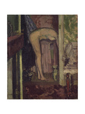 Woman Washing Her Hair Giclee Print by Walter Richard Sickert