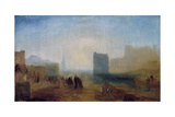 Classical Harbour Scene; Possibly Based on Le Havre Giclee Print by Joseph Mallord William Turner