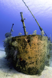 Bow of the Oro Verde Wreck, Grand Cayman Photographic Print by Stocktrek Images