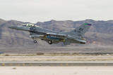 A U.S. Air Force F-16C Fighting Falcon Taking Off Photographic Print by Stocktrek Images