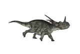 Styracosaurus Dinosaur Running Posters by Stocktrek Images
