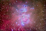 The Orion Nebula Region Photographic Print by Stocktrek Images