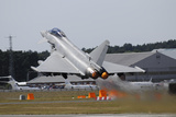 Eurofighter Ef2000 Typhoon from the Royal Air Force at Full Afterburner During Takeoff Photographic Print by Stocktrek Images