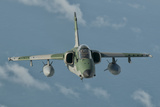 Brazilian Air Force Amx in Flight over Brazil Photographic Print by Stocktrek Images