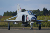F4-E Phantom of the Japan Air Self-Defense Force Taxiing on the Runway Photographic Print by Stocktrek Images