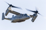 A U.S. Marine Corps V-22 Osprey Flies over Santa Rosa, California Photographic Print by Stocktrek Images