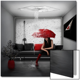 Rain in Paris Posters av  Nataliorion