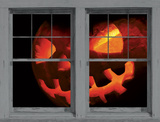 Scary Jack WOWindow Poster Window Decal