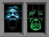 Green Demon/Silent Shrieker Combo WOWindow Poster Window Decal