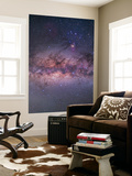 Center of the Milky Way Through Sagittarius and Scorpius Wall Mural by Stocktrek Images