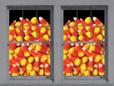 Candy Corn Galore WOWindow Poster Window Decal