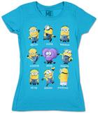 Juniors: Despicable Me- Minion Talk Tshirts