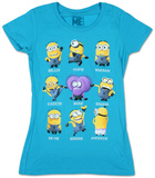 Juniors: Despicable Me- Minion Talk T-shirts