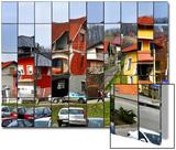 Rubik's Town Reprodukcje autor Samanta