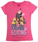 Youth: Despicable Me- Normal is Boring Koszulka