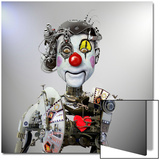 Electronic Clown Posters by  Ddiarte
