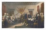Signing the Declaration of Independence, July 4th, 1776 Rug by John Trumbull