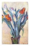 Tulips, 1885 Rug by Claude Monet