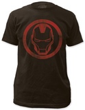 Iron Man - distressed icon T-shirts