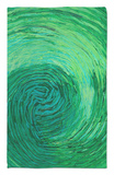Green Earth II Rug by Charles McMullen