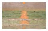 Sunset, 1913 Rug by Félix Vallotton