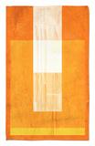 Orange Paper 2 Alfombrilla por NaxArt