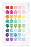 Rainbow Dots Alfombrilla por Avalisa