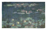 Waterlilies: Green Reflections, 1914-18 (Right Section) Rug by Claude Monet