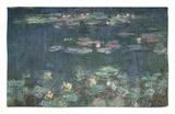 Waterlilies: Green Reflections, 1914-18 (Right Section) Alfombrilla por Claude Monet