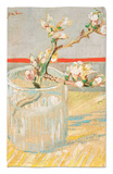 Blossoming Almond Branch in a Glass, c.1888 Rug by Vincent van Gogh