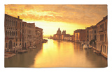 Santa Maria Della Salute, Grand Canal, Venice, Italy Rug by Jon Arnold