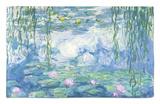 Waterlilies, 1916-19 Rug by Claude Monet