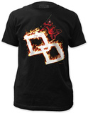 Daredevil - Flames Shirts