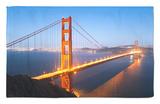Golden Gate Bridge, San Francisco, California, United States of America, North America Rug by Gavin Hellier